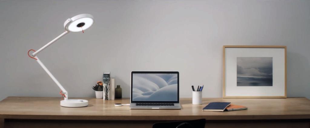 MyLiFi® Pro, une lampe high tech et connectée