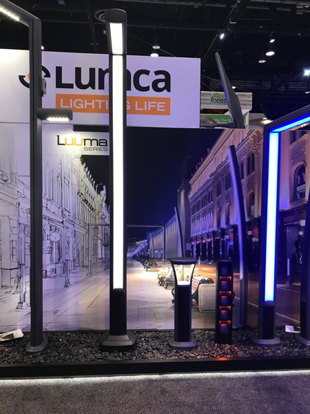 Lumca, Global LiFi Tech's partner at LIGHTFAIR International